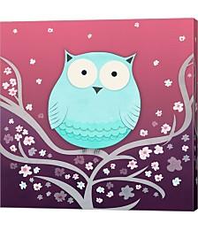 Spring Owl by Carla Martell Canvas Art