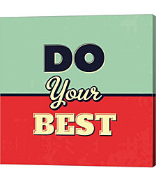 Do Your Best by Lorand Okos Canvas Art