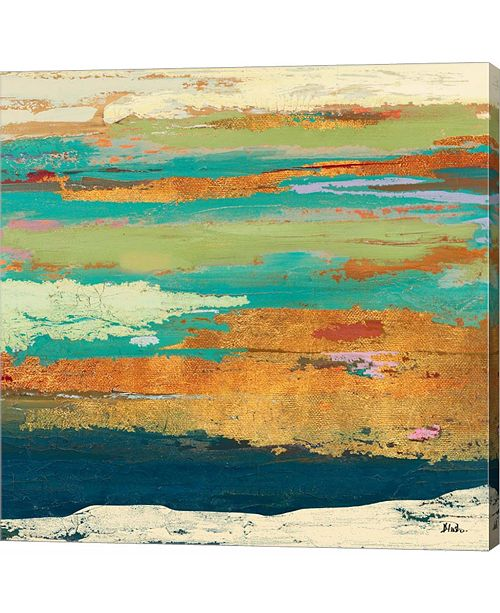 Metaverse Tropical Sunrise I by Patricia Pinto Canvas Art