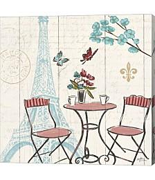 Paris Tour VI by Janelle Penner Canvas Art