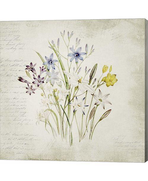 Metaverse Wild Flowers Three by Marcee Duggar Canvas Art