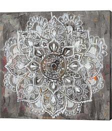 Mandala in Neutral II by Danhui Nai Canvas Art