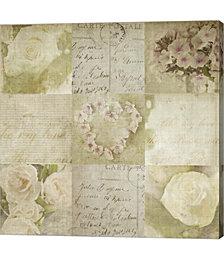 Vintage Floral by Symposium Design Canvas Art