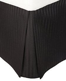 Superior Prestige 1500 Series Stripe Bed Skirt - Queen - White
