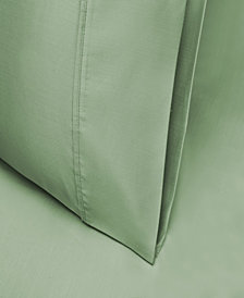 Superior 600 Thread Count Cotton Rich Solid Pillowcase Set - King - White