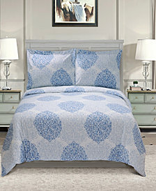 Superior 300 Thread Count Cotton Maywood Sheet Set - Twin