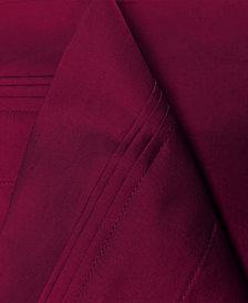 Superior 650 Thread Count Egyptian Cotton Stripe Sheet Set - Full - White