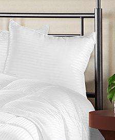 Superior Luxurious Down Alternative Striped Pillows