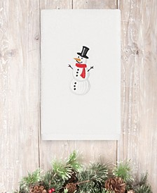 CLOSEOUT!  Snowman 100% Turkish Cotton Hand Towels