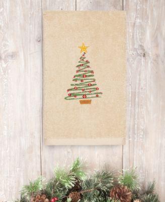 Christmas Tree 100% Turkish Cotton Hand Towel