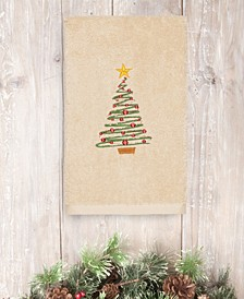 CLOSEOUT!  Christmas Tree 100% Turkish Cotton Hand Towel