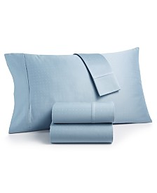 Charter Club Sleep Luxe 700 Thread Count, Dobby Dot Standard Pillowcase Pair, 100% Egyptian Cotton, Created for Macy's