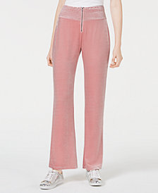 Material Girl Juniors' Velvet Soft Pants, Created for Macy's