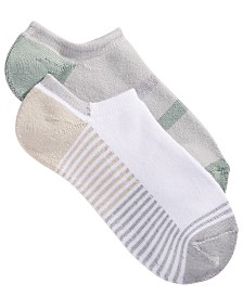 Lemon 2 Pack Powder Playground Stripe Low-Cut Socks