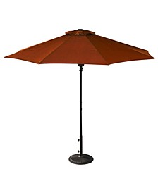 Cabo 9-Ft Octagonal Market Umbrella With Olefin Canopy
