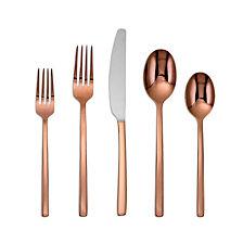 Cambridge Beacon Copper Mirror 20-Piece Flatware Set