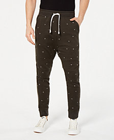 G-Star RAW Men's Letter-Print Sweatpants, Created for Macy's