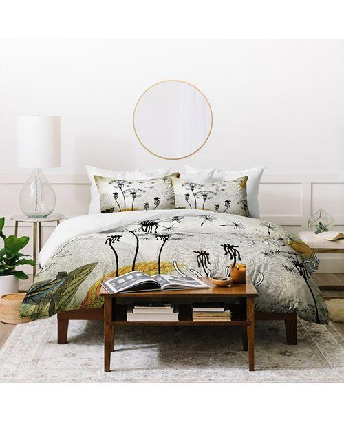 Deny Designs Iveta Abolina Little Dandelion King Duvet Set