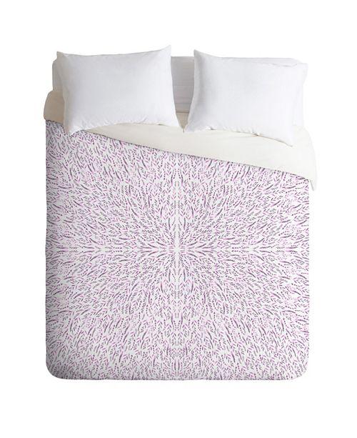 Deny Designs Iveta Abolina Lilac Lace King Duvet Set
