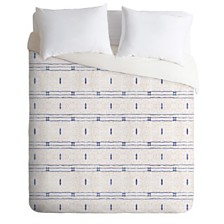 Deny Designs Holli Zollinger French Linen Stripe King Duvet Set