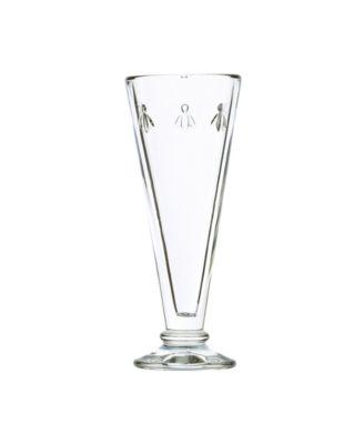 Glassware Napoleon Bee 6-ounce Flutes, Set of 6