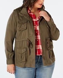 8c014910a5d3a Levi s Plus Size Utility Jacket   Reviews - Jackets   Blazers - Plus ...