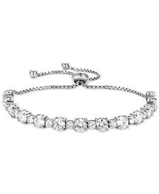 Cubic Zirconia Bolo Bracelet