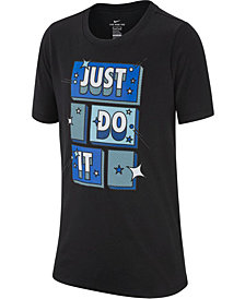 Nike Big Boys Just Do It-Print T-Shirt