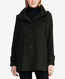 Lauren Ralph Lauren Hooded A-Line Coat