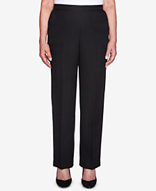 Alfred Dunner Shining Moments Pull-On Trouser Pants