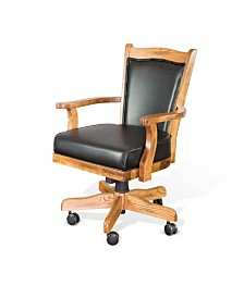 Sedona Rustic Oak Game Chair