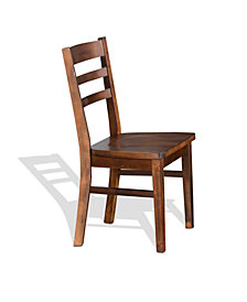 Santa Fe Dark Chocolate Ladderback Chair
