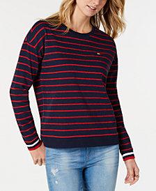 Tommy Hilfiger Sport Striped Sweatshirt