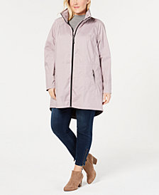 32 Degrees Plus Size Hooded Waterproof Anorak Raincoat