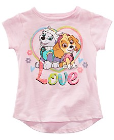 Nickelodeon Paw Patrol Little Girls Love T-Shirt