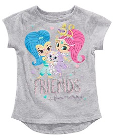 Nickelodeon Little Girls Shimmer & Shine Graphic-Print T-Shirt