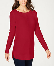 Charter Club Crewneck Sweater, Created for Macy's