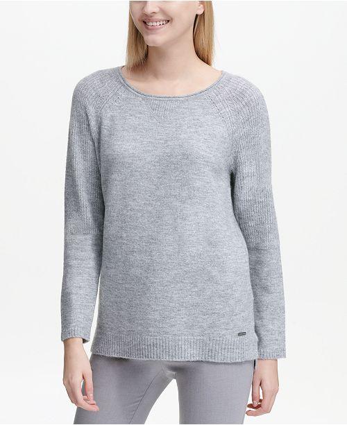 6bad4466f2cb Calvin Klein Cozy Crewneck Sweater  Calvin Klein Cozy Crewneck Sweater ...