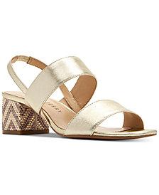 Katy Perry Annalie Smooth Metallic Sandals
