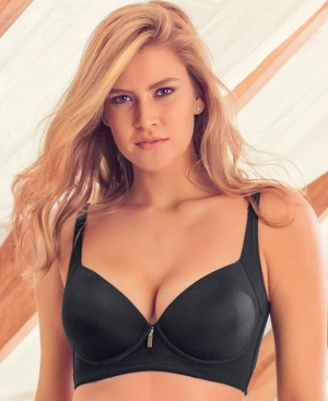 af0a48d6896d7 LEONISA | High Profile Push Up Bra with Full Coverage 011970 | Goxip