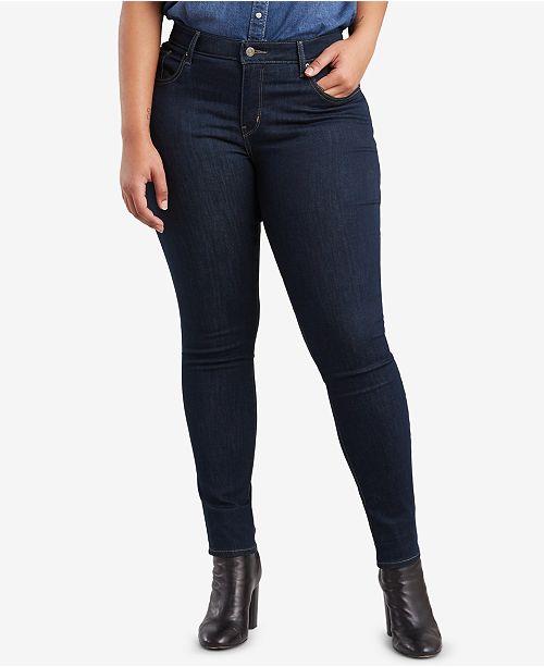 8ae9254d9f Levi s Plus Size 711 Skinny Jeans   Reviews - Jeans - Plus Sizes ...