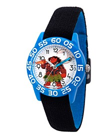 Disney Moana, Maui Boys' Blue Plastic Time Teacher Watch