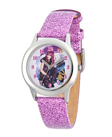 Disney Descendants 2 Mal Tween Girls' Stainless Steel Watch