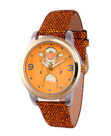 Disney Pooh Tigger Women's Two Tone Alloy Watch