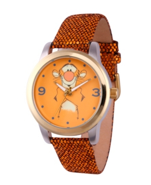 Disney Pooh Tigger Women's Two Tone Alloy Watch