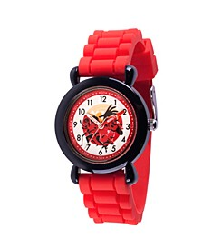 Disney The Incredibles 2 Bob Parr ,Violet Parr, Jack-Jack Parr, Helen Parr, Dashiell Parr Boys' Black Plastic Time Teacher Watch