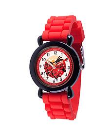 Disney The Incredibles 2 Bob Parr ,Violet Parr, Jack-Jack Parr, Helen Parr, Dashiell Parr Boys' Black Plastic Time Teacher Watch