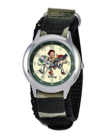 Disney Toy Story Boys' Stainless Steel Time Teacher Watch