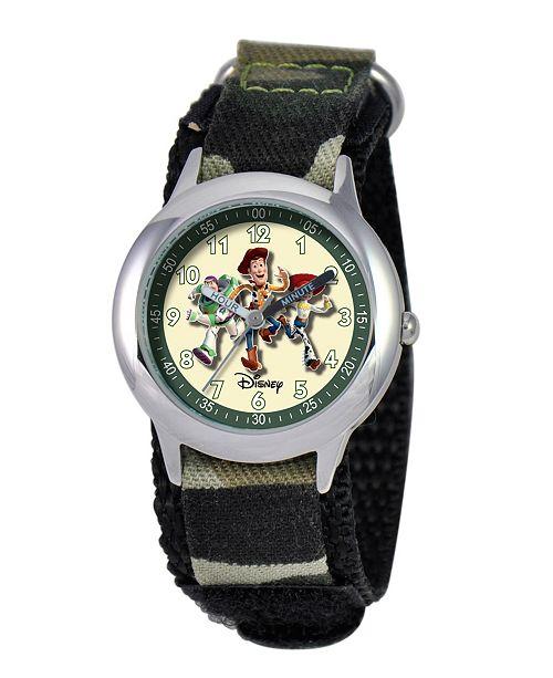 ewatchfactory Disney Toy Story Boys' Stainless Steel Time Teacher Watch