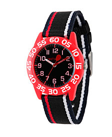 Red Balloon Boys' Red Plastic Time Teacher Watch